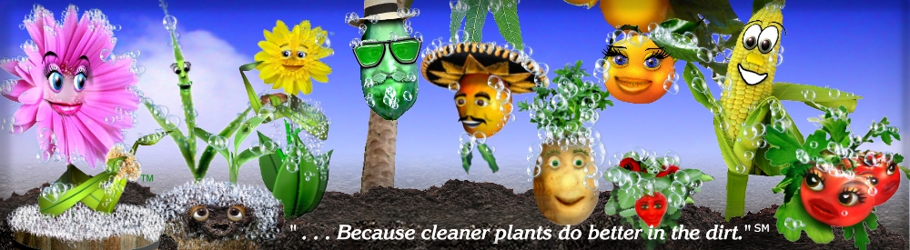 Clean Plants Happy Plants Banner